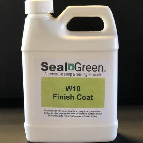 SealGreen W10 Finish Coat