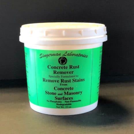 Singerman Laboratories Concrete Rust Remover