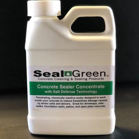 SealGreen Concrete Sealer Concentrate With Salt Defense Technology