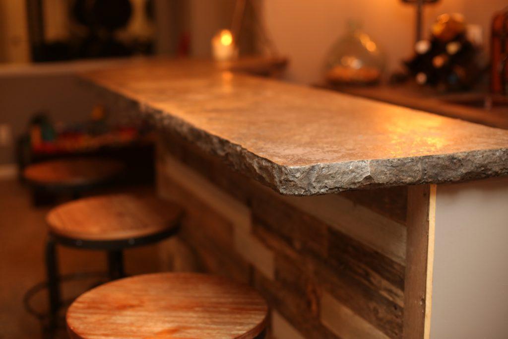 Bellattex Concrete Counter Tops - Basement Kitchen