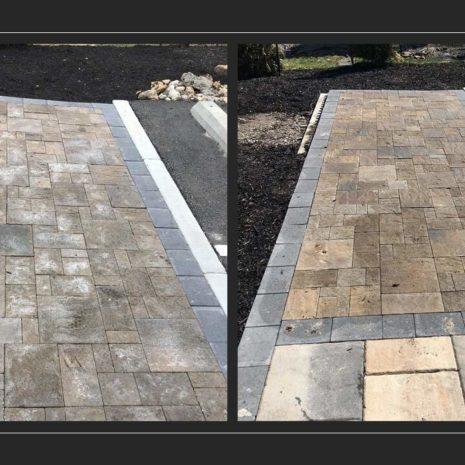 Before & After Efflorescence Remover