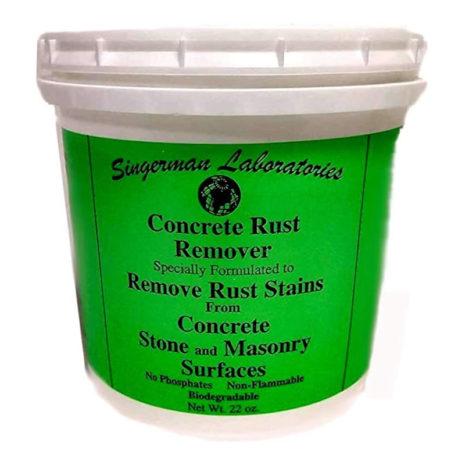 Singerman Laboratories Rust Remover for Concrete